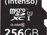 Professional Ultra Sandisk 64gb Microsdxc Card Intenso Micro Sdxc 256gb Class 10 Speicherkarte Inklusiv Sd Adapter Uhs I