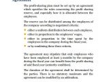 Profit Share Contract Template Sample Profit Sharing Agreement 12 Examples format