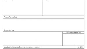 Project Acceptance form Template Project Review and Acceptance Process