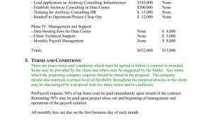 Project Management Fee Proposal Template Project Management Proposal Template In Word and Pdf