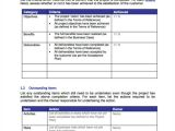 Project Manager Email Templates Project Closure Template Projectmanager Com