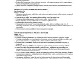 Project Manager Job Application Resume Resume Template software Development Manager Amazon Com