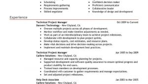 Project Manager Resume Sample Best Technical Project Manager Resume Example Livecareer