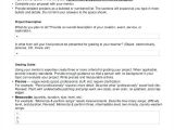 Project Proposal Template Word 2010 Project Proposal Outline Pdf Proposals for Funding