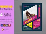 Promotional Flyers Template Free Promotion Flyer Template Flyer Templates Creative Market