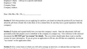 Proper formatting for A Cover Letter 7 Sample Resume Cover Letter formats Sample Templates