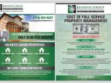 Property Management Flyer Template 8 1 2 X 11 Mailer Flyer for Property Management Firm by