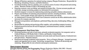 Property Manager Resume Sample Property Manager Resume Should Be Rightly Written to