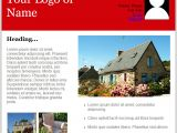 Property Newsletter Template Email Templates for Real Estate Newsletters and Marketing