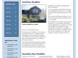 Property Newsletter Template Free Real Estate Newsletter Template Newsletter
