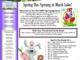 Property Newsletter Template Newsletter Ideas April is the Month Of Property