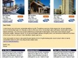 Property Newsletter Template Real Estate Newsletter Templates for 10 00