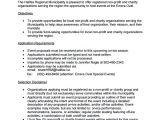 Proposal Template for Non Profit organization 12 Non Profit Proposal Templates Sample Templates