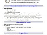 Proposal Template for Non Profit organization 21 Non Profit Business Plan Templates Pdf Doc Free