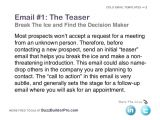 Prospecting Email Template Example Cold Emailing Templates for Prospecting