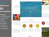 Psd Email Template to HTML Kestrel Psd Email Template Other Platform Email