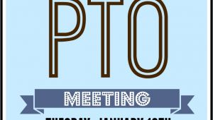 Pto Meeting Flyer Template 1000 Images About Pto On Pinterest Back to School Night