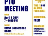 Pto Meeting Flyer Template Cmsa Pto Meeting Chicago Math and Science Academy Cmsa
