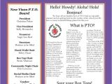 Pto Newsletter Templates Free 1000 Ideas About Newsletter Template Free On Pinterest