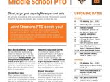 Pto Newsletter Templates Free 12 Best Work Images On Pinterest Newsletter Ideas