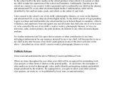 Publicity Release form Template 8 Sample Publicity Release forms Sample Templates