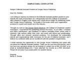 Publishing assistant Cover Letter 7 Editorial assistant Cover Letter Templates Sample