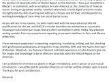 Publishing assistant Cover Letter Publishing Cover Letter Amere