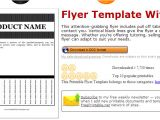 Pull Tab Flyer Templates Free June 2014 Af Templates Page 2
