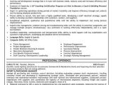Purchase Officer Resume format In Word A Resume Template for An Import and Purchasing Manager