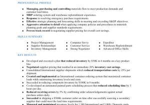 Purchasing Coordinator Resume Sample Musiel Jodi A Resume Parts Procurement Coordinator
