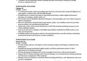 Purchasing Coordinator Resume Sample Purchasing Manager Resume Samples Velvet Jobs