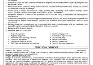 Purchasing Coordinator Resume Sample top Purchasing Resume Templates Samples