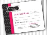 Pure Romance Gift Certificate Template 5 Best Images Of Vistaprint Create Your Own Logo Pure