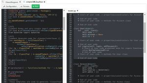 Python HTML Template Online Python Code Generator the Genmymodel Blog