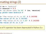 Python String Template Python Programming Essentials M9 String formatting