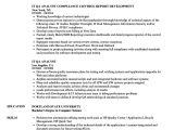 Qa Analyst Resume Sample It Qa Analyst Resume Samples Velvet Jobs