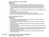 Qa Analyst Resume Sample Quality assurance Analyst Bruin Blog