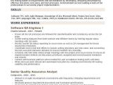 Qa Qc Engineer Resume Pdf software Qa Engineer Resume Samples Qwikresume