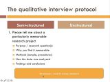 Qualitative Research Interview Protocol Template Qualitative Research Interview Protocol Template Image