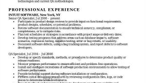 Quality assurance Resume Samples 14 Awesome Quality assurance Resume Sample Templates