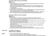 Quality Control Engineer Resume Manufacturing Quality Engineer Resume Samples Velvet Jobs
