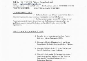 Quality Control Engineer Resume Pdf Quality Control Engineer 3 Resume format Resume