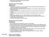 Quality Control Engineer Resume Process Quality Engineer Resume Samples Velvet Jobs