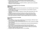 Quality Engineer Resume Automotive Development Quality Engineer Resume Samples Velvet Jobs