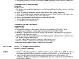 Quality Engineer Resume Doc associate Quality Engineer Resume Samples Velvet Jobs