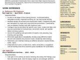 Quality Engineer Resume Keywords software Qa Engineer Resume Samples Qwikresume