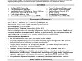 Quality Engineer Resume Sample Resume for A Midlevel Quality Engineer Monster Com