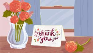 Quarter Fold Thank You Card Printable 13 Free Printable Thank You Cards with Lots Of Style