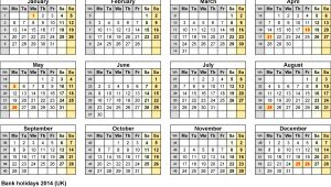 Quarterly Calendar 2014 Template 7 Monthly Calendar Excel Template 2014 Exceltemplates