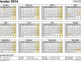 Quarterly Calendar Template 2014 7 Monthly Calendar Excel Template 2014 Exceltemplates